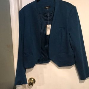 Premise blazer size 8p in Atlantic blue NWT
